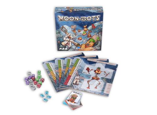 Настольная игра Луноботы (Moon-bots)