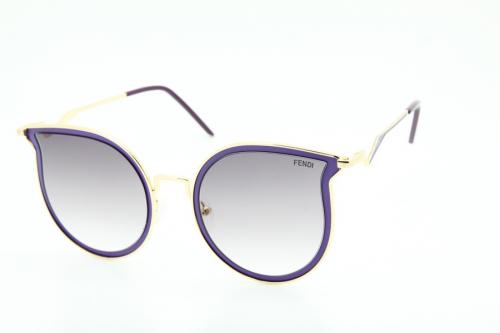 КОПИЯ Fendi солнцезащитные очки женские - BE01144 УЦЕНКА