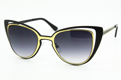 КОПИЯ Fendi солнцезащитные очки женские - BE00792