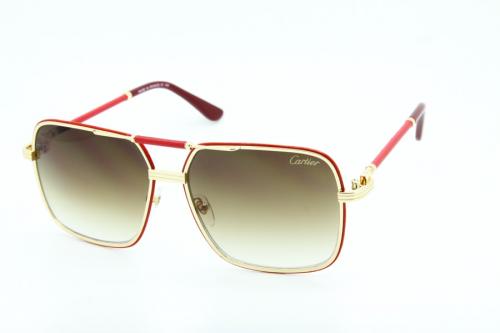 КОПИЯ Cartier солнцезащитные очки мужские - BE01119