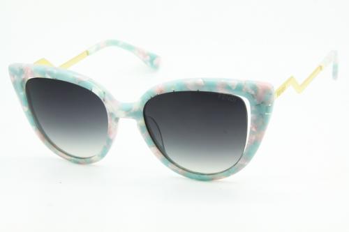 КОПИЯ Fendi солнцезащитные очки женские - BE00800