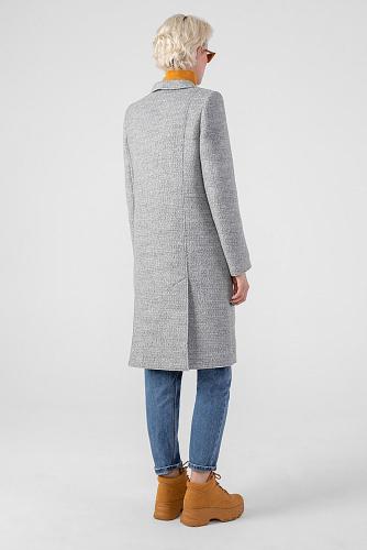 Пальто #177739Серый