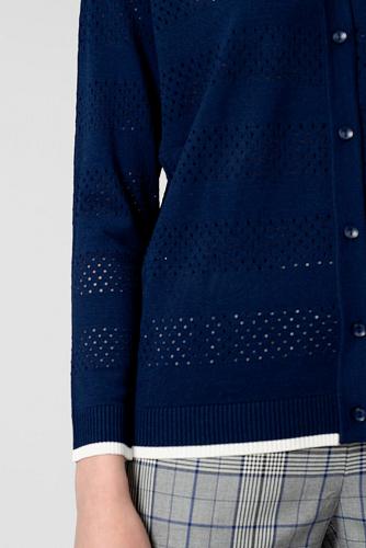 Жакет #180770Темно-синий