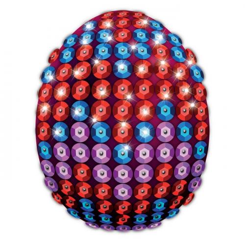 Набор для декорирования пасхального яйца пайетками № 3 1545288