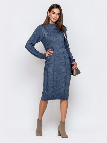 Платье вязаное 26125