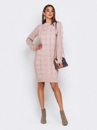 Платье вязаное 26125/1