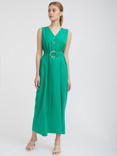 Прямое платье из тенсела