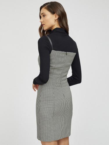 Комплект из платья и водолазки
