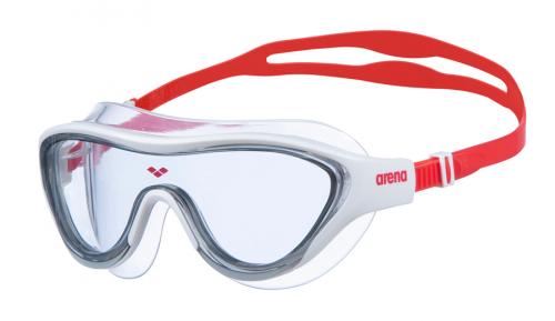 Очки для плавания THE ONE MASK light smoke-white-red (20-21)