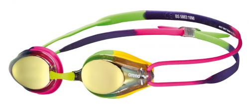 Очки для плавания TRACKS MIRROR violet-fuchsia-green (20)