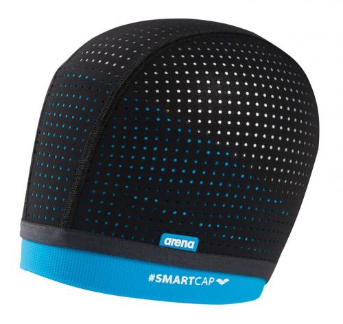 Шапка для плавания SMARTCAP AQUAFITNESS black-turquoise (20)