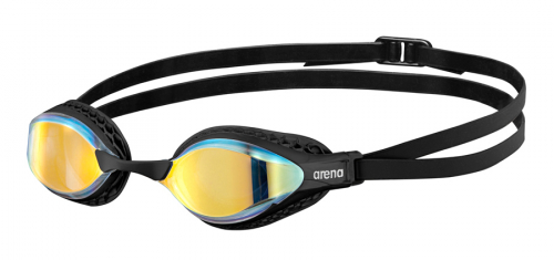 Очки для плавания AIRSPEED MIRROR yellow copper-black (20-21)