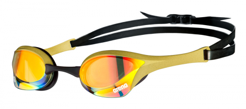 Очки для плавания COBRA ULTRA SWIPE MR yellow copper-gold (20-21)