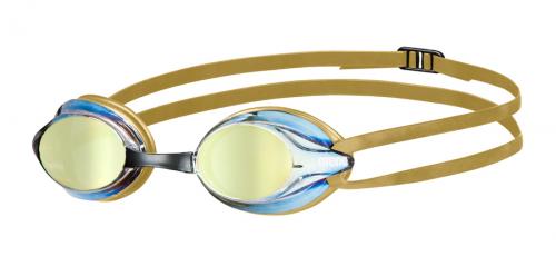 Очки для плавания VERSUS MIRROR red copper-gold (20)