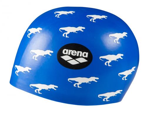 Шапка для плавания POOLISH MOULDED dino blue (19-20)