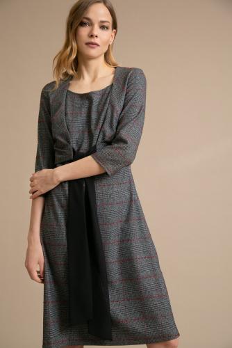 #94059 Платье (Emka Fashion) Серый