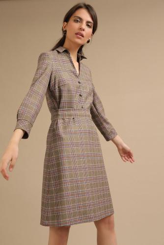 #94010 Платье (Emka Fashion) коричневый