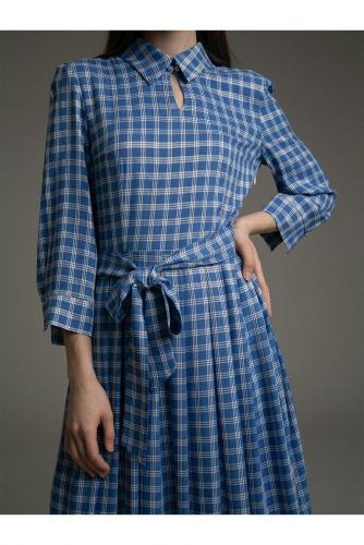 #97659 Платье (Emka Fashion) синий