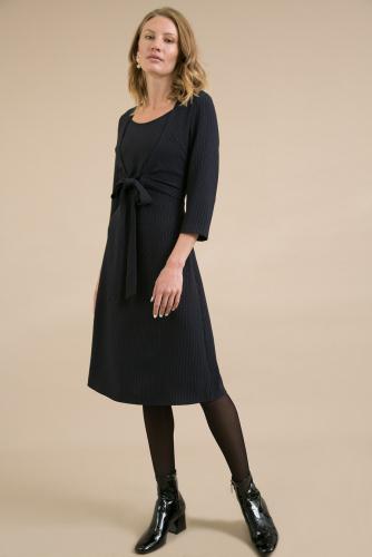 #93969 Платье (Emka Fashion) темно-синий