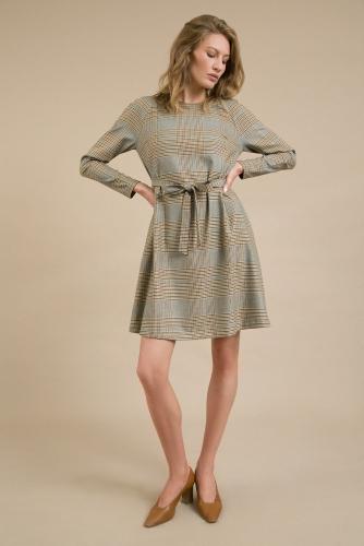 #94155 Платье (Emka Fashion) бежевый