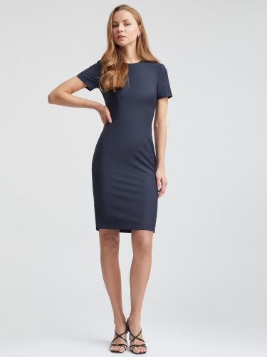 Платье из костюмной шерсти
