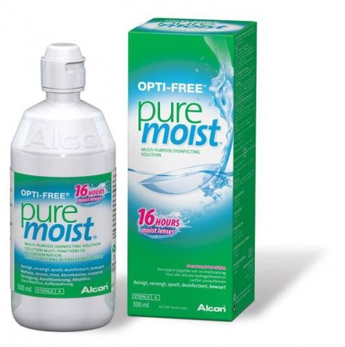 Opti-Free PureMoist раствор 300ml