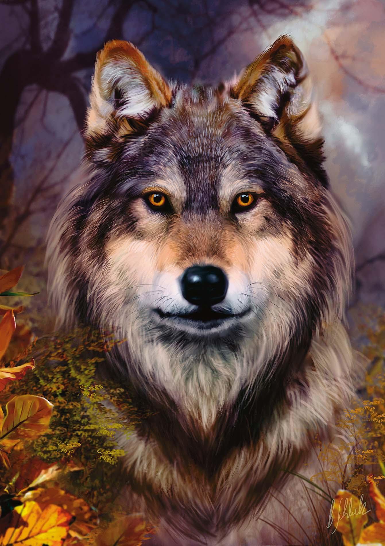 Самая красивые картинки волков