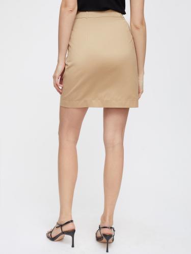Короткая юбка из хлопка