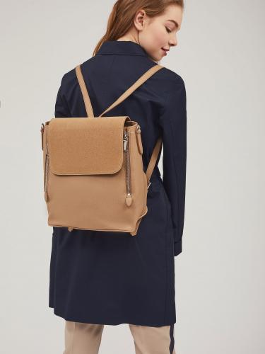 Комбинированный рюкзак из эко кожи