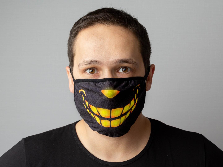 многим картинки маски с улыбкой лымарев