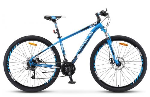 Велосипед 29 Stels Navigator 910 MD V010 (рама 20,5) Синий/чёрный