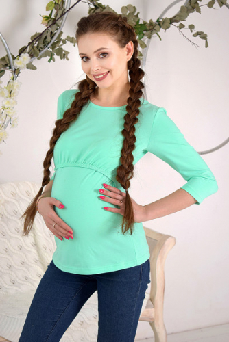Лонгслив для беременных и кормящих Код товара: 1902