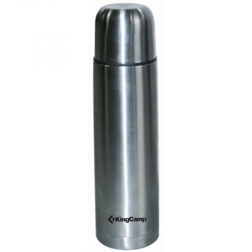 600р. 683р. 3718 VACUM FLASK 0,75 л silver термос узк.
