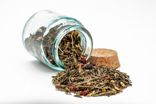 Зеленый чай - Ягодная сказка