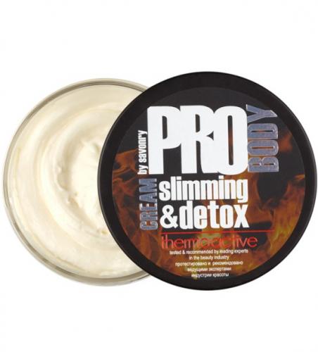 Термоактивный крем для тела slimming&detox