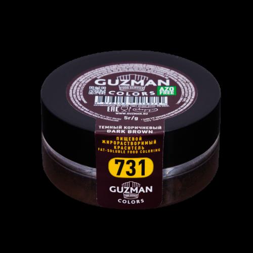 Темный коричневый — жирорастворимый краситель GUZMAN — 5г