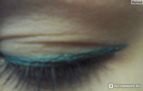 Rimmel Карандаш Для Глаз Exaggerate Waterproof Eye Definer Ж Товар 250 тон Emerald Sparkle