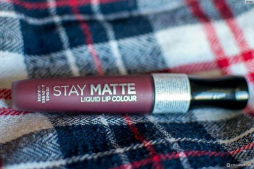 Rimmel Помада Жидкая Матовая Stay Matte Liquid Lip Colour Ж Товар Тон 860
