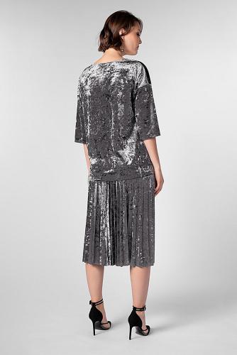 Блуза #180814Серый