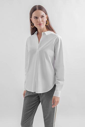 Блуза #180648Белый
