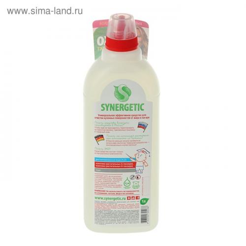 Средство чистящее Synergetic для плит, 1 л