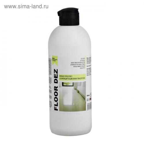 Средство моющее щелочное с дезинфицирующим эффектом для пола IPC Floor Dez 500 мл