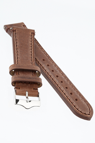 Брутальный ремешок #189006Темно-коричневый