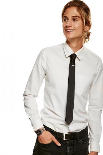 Классический галстук #189293Черный