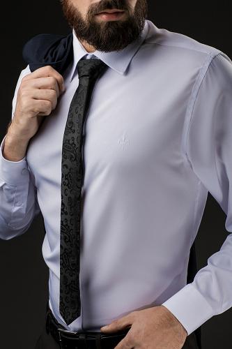 Классический галстук #188146Черный