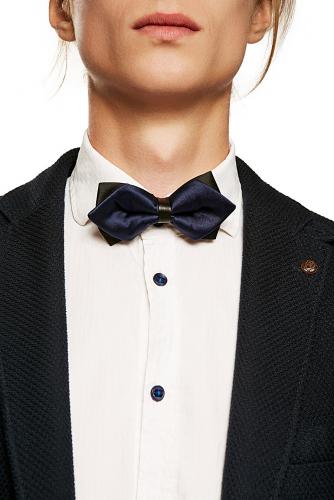 Галстук-бабочка джон уик #189361Черный, темно-синий