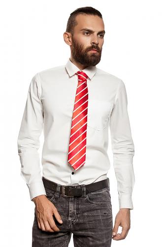 Классический галстук #194226Красный