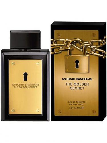 Antonio Banderas Golden Secret муж т.в. 50 мл