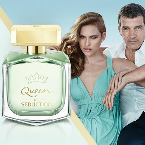 Antonio Banderas Queen of Seduction  жен т.в. 80 мл
