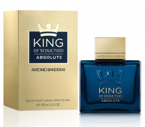 Antonio Banderas King of Seduction Absolute муж т.в. 100 мл